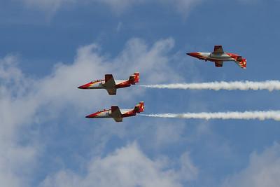 Patrull Aguila - CASA C-101EB Aviojets (Spanish Air Force Aerobatic Team)