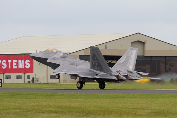 Lockheed Martin F-22A Raptor  (United States Air Force)