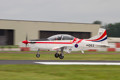 Krila Oluje - Croatian Air Force  Aerobatic Team (Pilatus PC 9M )