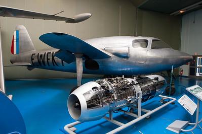 Musée de l'Air, juin 2011. SO 6000 Triton.