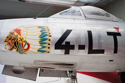 Musée de l'Air, juin 2011. Dassault MD450 Ouragan.