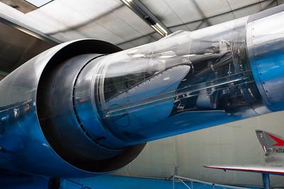 Musée de l'Air, juin 2011. Poste de pilotage du Leduc 022-01.