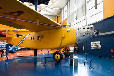 """Musée de l'Air, juin 2011. Bernard-Hubert 191GR """"oiseau canari""""."""