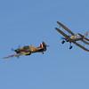 1940 - Hawker Hurricane mk1 & 1938 - Gloster Gladiator