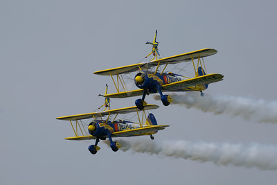 Utterly Butterly Wing-Walkers (Boeing Stearman)