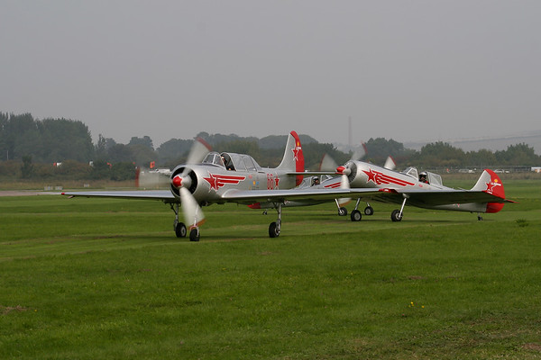 Yakolevs Formation Aerobatics Team