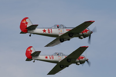 "Yakovlevs Aerobatic Display Team ""Yakovlev Yak-50"""
