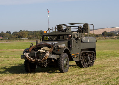 M3 Half-track armored personnel carrier