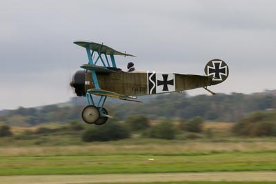 "Fokker Dr1 Replica  ""Great War Display Team"""