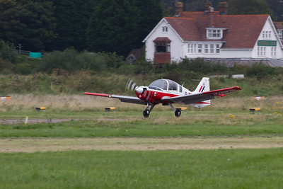 "De Havilland Canada DHC-1 Chipmunk T10 ""The Red Sparrows display team"""
