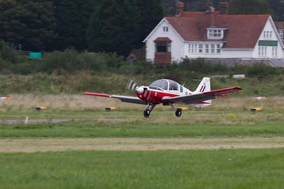 "De Havilland Canada DHC-1 Chipmunk T10 ""The Red Sparrows display team"""