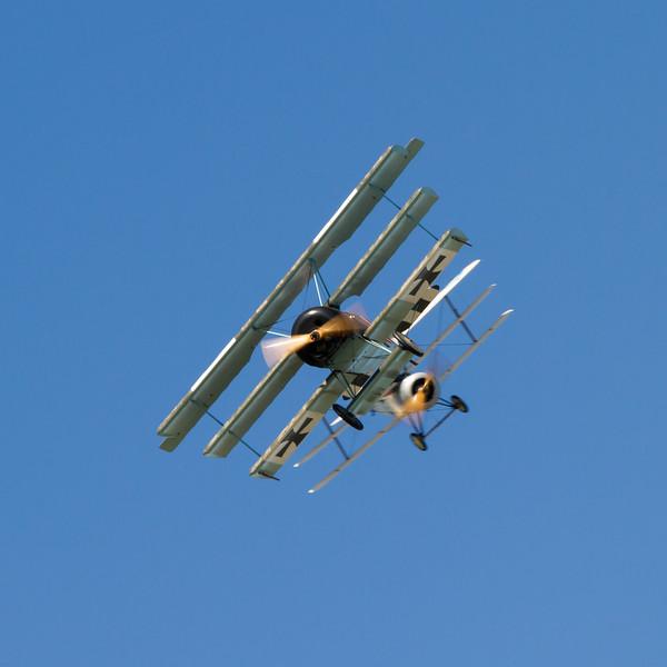 Fokker Dr1 Triplane Replica / Sopwith Triplane Replica