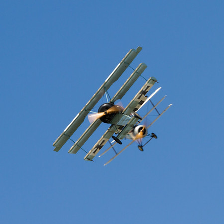 Fokker Dr1 Triplane & Sopwith Triplane