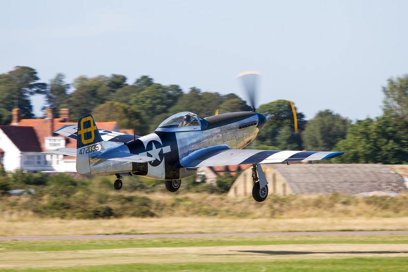 "1944 - North American P-51D Mustang ""Jumpin Jacques"""
