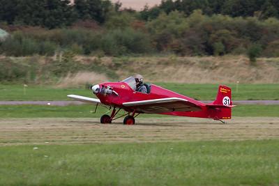 """Rollason D31 Turbulent """"The Tiger Club Turbulent Display Team"""""""