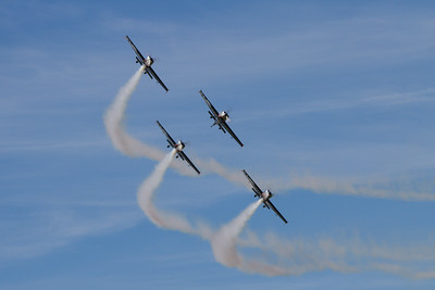 Extra EA-300s (The Blades Aerobatic Display Team)