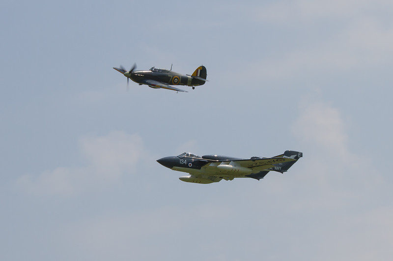 1941 - Hawker Sea Hurricane 1B / De Havilland Sea Vixen FAW2