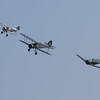 1938 - Gloster Gladiator / 1941 - Fairey Swordfish Mk 1 / North American AT-6D-NT Texan