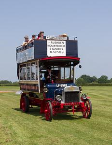 1913 - Wellingborough Double Deck Bus