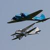 1945 - De Havilland 89A Rapide / 1946 - Avro C16 Anson
