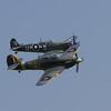 1941 - Hawker Sea Hurricane Mk 1B & 1944 - Supermarine Seafire LF III
