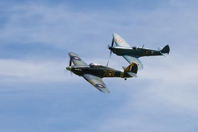 1941 - Hawker Sea Hurricane Ib and Supermarine Spitfire PR XI