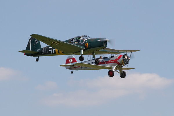 1940 - Bucker Bu-181 Bestmann  & Focke-Wulf FW44 Stieglitz