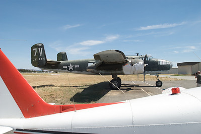 "South Valley Airport - North American B-25 ""Mitchell"""