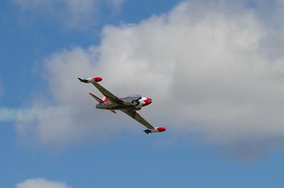 Model of a Lockheed T-33 Shooting Star