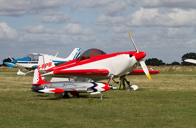 Dan Rihn DR.107 One Design and Model of a Lockheed T-33 Shooting Star