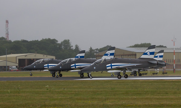 The Midnight Hawks (Finnish Air Force Aerobatic Team)