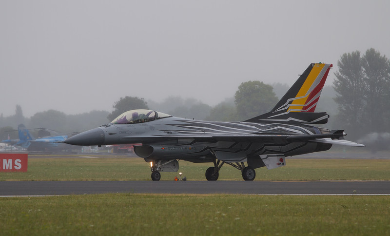 General Dynamics F-16 Fighting Falcon (Belgian Air Component)