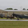 1945 - Supermarin Spitfire Mk XVI & 1944 - Hawker Hurricane Mk IIc
