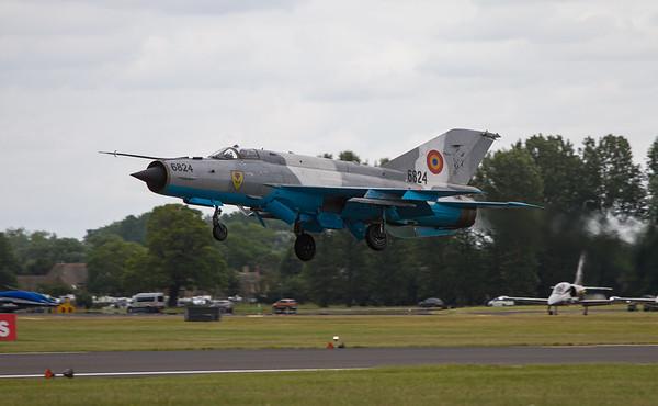 MIG 21 Lancer C (Romanian Air Force)