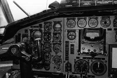 Tupolev 154B CCCP-85238 au Havre (LFOH) le 20 mai 1978. Minolta SRT-101, objectif Rokkor 1:1,7 50mm, flash Nikon SB-15.