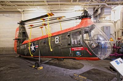USS Hornet Museum. Piasecki HUP-1 Retriever.