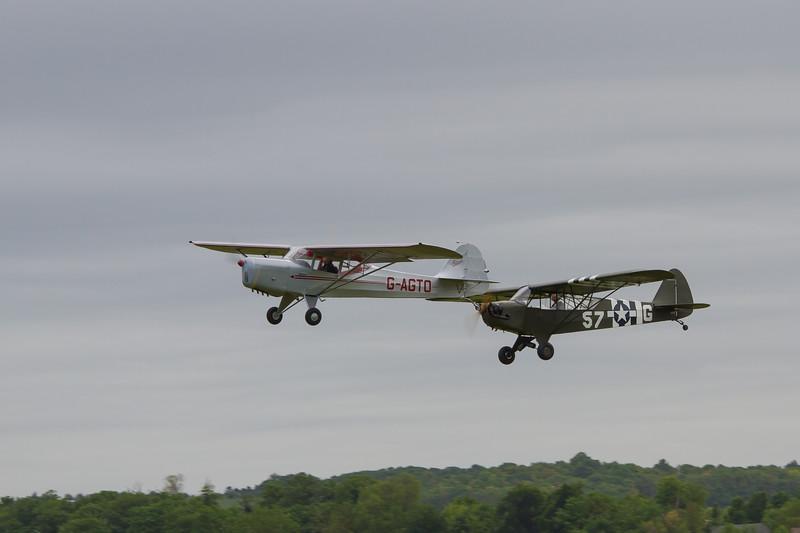 Piper L-4 Cub / 1945 Auster J-1 Autocrat