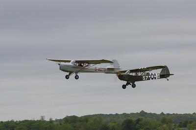Piper L-4 Cub and Auster Autocrat