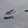 1943 - Consolidated PBY-5A Catalina and 1943 - C-47A Skytrain and Beech Expeditor 3NM