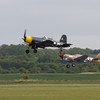 1945 - Goodyear Corsair FG-1D and 1941 - Curtiss P-40F Warhawk