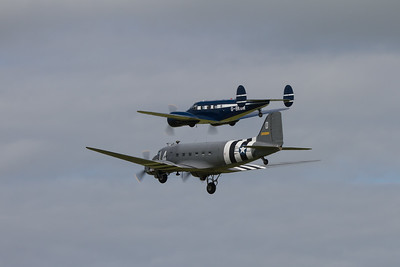 1943 - C-47A Skytrain and Beech Expeditor 3NM