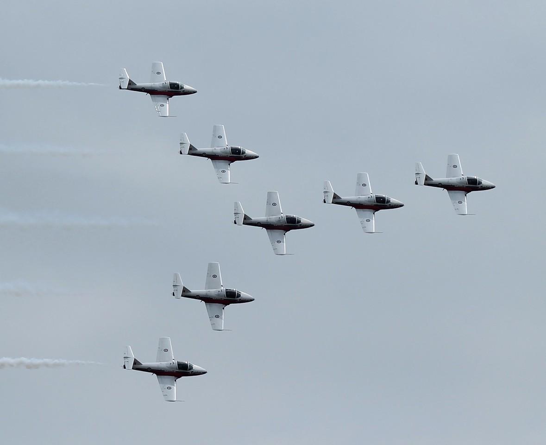 Canadian Snowbirds CT-114s