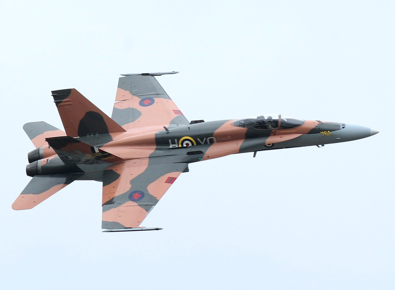 Canadian CF-18 in 75th  Anniversary Battle of Britain colours