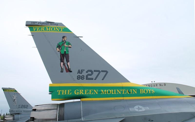 VT ANG F-16s