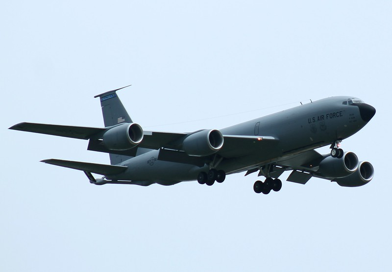 KC135 [62-3538] tanker from 927th ARW MacDill AFB, Florida inbound RWY23.