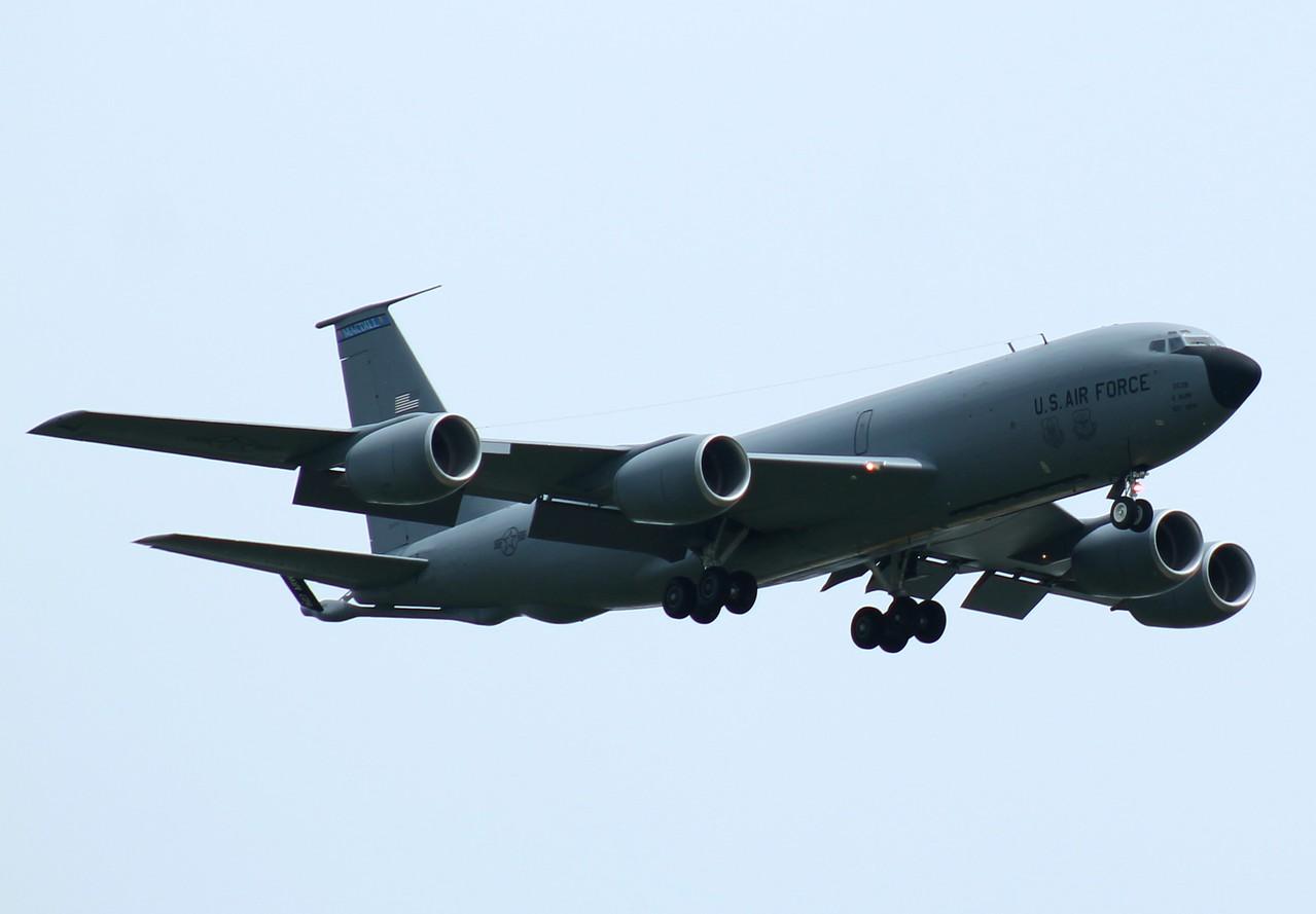 KC135 [62-3538] tanker from 927th ARW MacDill AFB, Florida inbound RWY23.