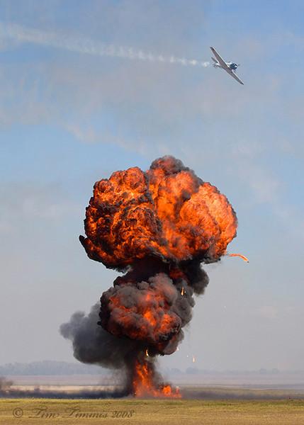 Bombs away during Tora Tora Tora
