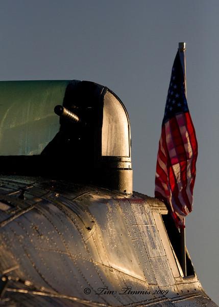 B-17 at sunrise