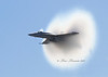 F/A 18E almost at the sound barrier
