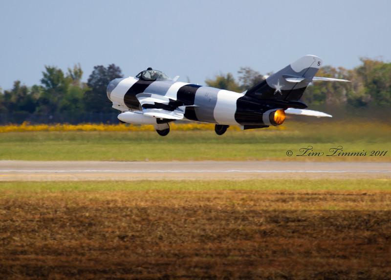 MIG 17 at take-off
